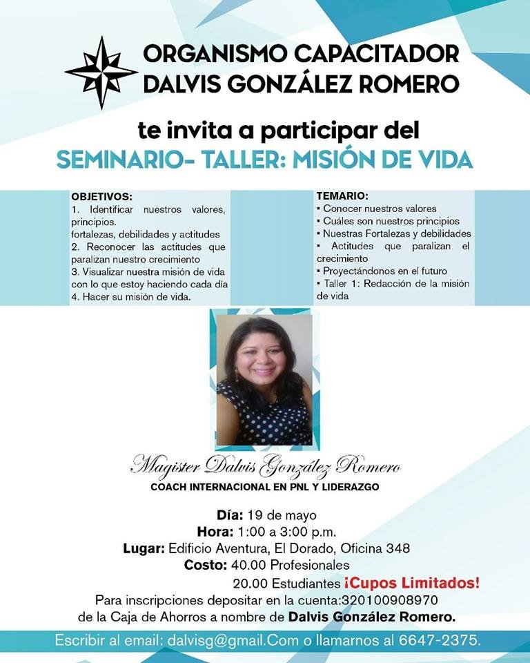 Seminario-Taller: Misión de Vida